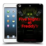 Official Five Nights at Freddy's Game 5 Logos Soft Gel Case for iPad Mini 1 / Mini 2 / Mini 3