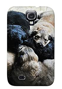 New Arrival Premium Galaxy S4 Case Cover With Appearance (puppy Babies Dogs Cute Face )