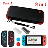 VT BigHome Switch NS Console Carrying Storage Bag Tempered Glass Screen Protector + Silicone Case for Joy-Con