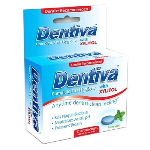 Dentiva Complete Oral Hygiene Soft Lozenge, Original (12 ea) (3 PACK)