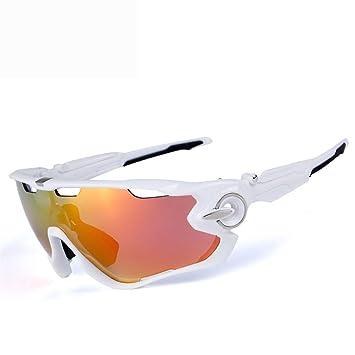 FRFG O9270 Gafas de Sol polarizadas Gafas de Bicicleta para Montar al Aire Libre Movimiento de