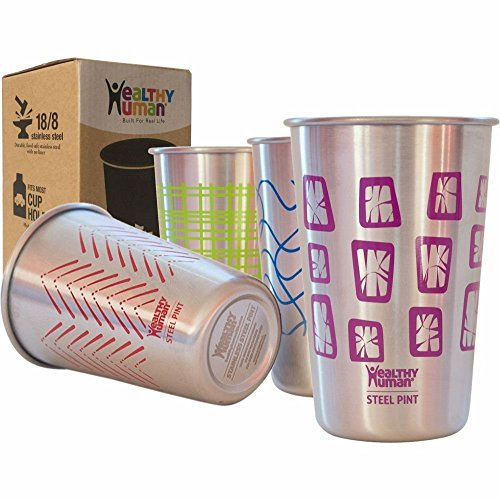 Healthy Human Stainless Steel Cups product image