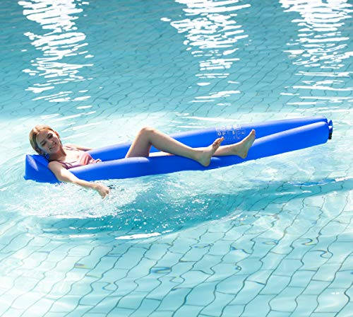 - Inflatable Pool Floats Lounger Floating Swimming Pool Loungers Water Hammock Pool Toys - No Pump Inflatable is Very Convenient- Compact and Easy to Carry/Enjoy a Cool and Beautiful Holiday