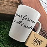 father ware - Love Mug Fiancee Drink ware Wife Gift Your Forever Coffee Mug Gift for Husband Fathers Day Mothers Day Birthday Coffee Mug for loved one