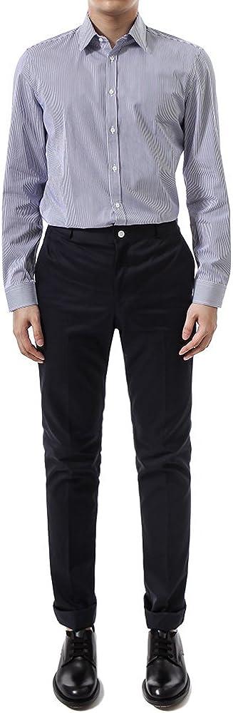 Gucci Hombre 406828Z02734275 Azul Algodon Camisa: Amazon.es ...