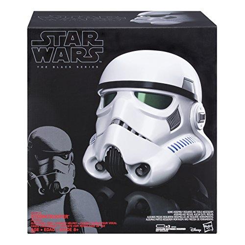 Hasbro Star Wars B9738EU4 Rogue One The Black Series Helm mit Stimmenverzerrer Imperialer Stormtrooper