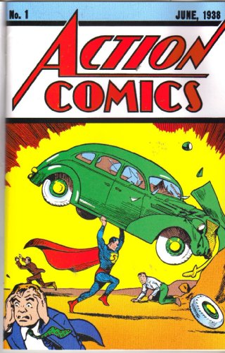 Action Comics No. 1 Reprint Edition by United States Postal Service