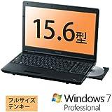 東芝 15.6インチ ノートパソコン dynabook Satellite B452 PB452FNBPR5A51(15.6/Celeron1.7GHz/2GB/320GB/DVD-SM/Win7pro) ダイナブックサテライト B452
