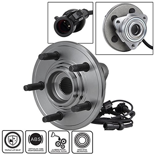Xtune BH-515078 Wheel Bearing and Hub Front 2007-10 Ford Explorer Sport Trac 2006-10 Mercury Mountaineer