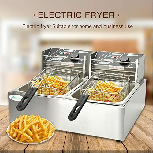 LIUMANG 12L 5000W Professional Grade Stainless Steel Electri