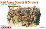 Dr6068 1/35 WW.ll Soviet Army Scout and Sniper (Woman Soldier Two Bodies, Man Soldier Two Bodies)