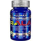 ALLMAX Nutrition R Alpha Lipoic Acid Max Strength R- Alpha Lipoic Acid 150 mg 60 Veggie Capsules