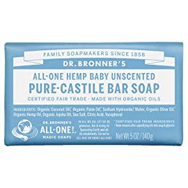 Dr. Bronner's All-One Hemp Pure-Castile Soap 5 oz (140 g) (pack of 4) 40