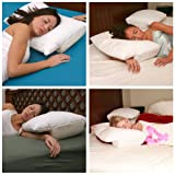 Better Sleep Pillow - Memory Foam Original Version - Sleeping on Arm Under Pillow Best Reviews for Side and Stomach Sleepers and Neck Support