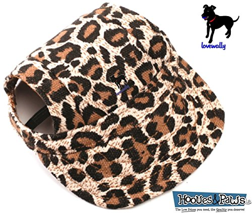 LoveWally Dog Outdoor PET Hat Leopard ♦ Adjustable Authentic (Large) by LoveWally (Image #5)