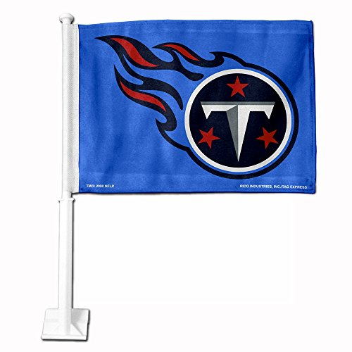 Rico Tennessee Titans 11X14 Window Mount 2-Sided Car Flag