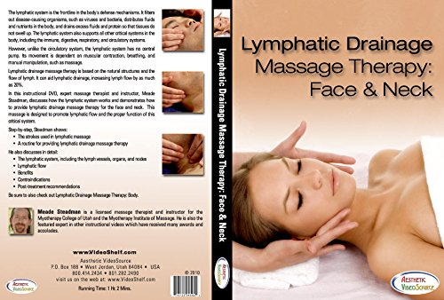 Amazon Com Lymphatic Drainage Massage Therapy Face And Neck Learn Professional Massage Techniques With This Dvd Course This Lymph Drainage Massage Training Dvd Received A Bronze Telly Award Was Featured