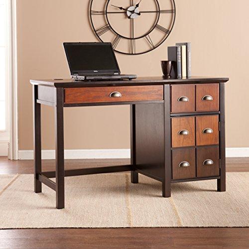Southern Enterprises Hendrik Apothecary Desk in Espresso