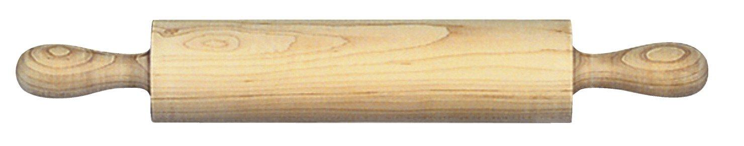 School Specialty 243810 Maple Clay Roller, Wood, 24'' x 16-1/2'' Diameter