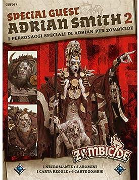 Asmodee- Zombicide Green Horde SGB Adrian Smith 2 Expansión Juego de Mesa con espléndidas miniaturas Edición en Italiano, Color, 7145: Amazon.es: Juguetes y juegos