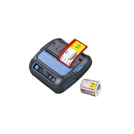 OXHARY Impresora térmica de Recibos Bluetooth 1880 de 58 mm ...