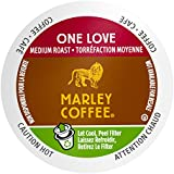 Marley Coffee Single Serve Coffee Capsules, One Love, 100% Arabica Coffee, 24 Count