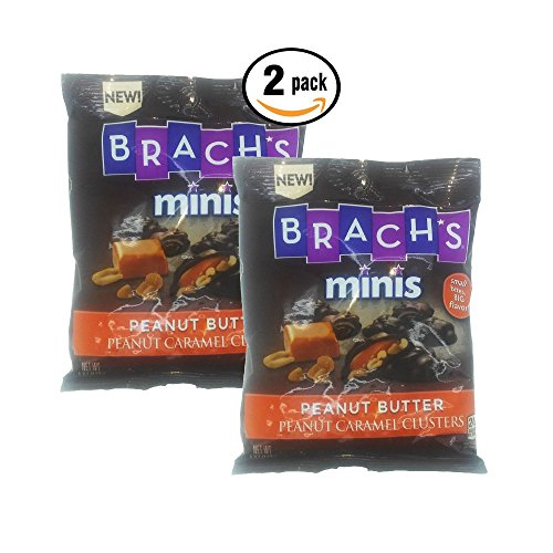 Clif Apple Cane (Brachs Mini Peanut Butter Peanut Caramel Clusters 4oz bag pack of)