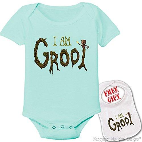Groot Custom bodysuit onesie matching