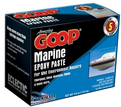 Amazing GOOP 5300031 Marine Epoxy Paste Kit - 4 fl (Marine Epoxy Paste)