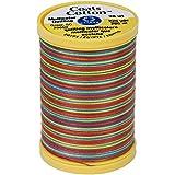 Coats Cotton Machine Gumballs Quilting Thread, 225 yd, Multicolor