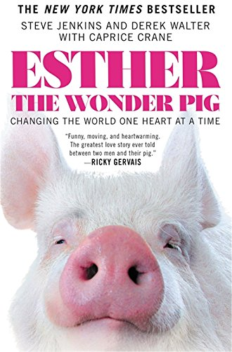 Caprice Vase - Esther the Wonder Pig: Changing the World One Heart at a Time