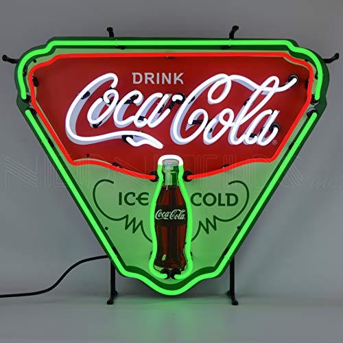 Coca Cola Ice Cold Shield Neon Sign by Neonetics