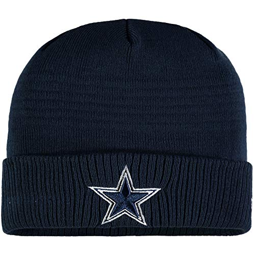 9b223c624e1 Image Unavailable. Image not available for. Color  New Era Dallas Cowboys  Navy Toned-Out Sport Knit Cuff Beanie Unisex Hat ...