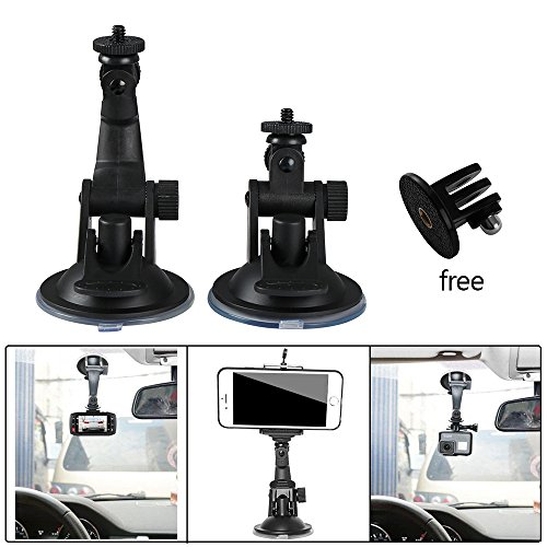 CALAP STORE - 1 Pcs Car Mount Holder DV GPS Camera Stand Holder Auto Car DVR Holder Car Styling Mini Car Suction Cup Mount Holder ( Short )