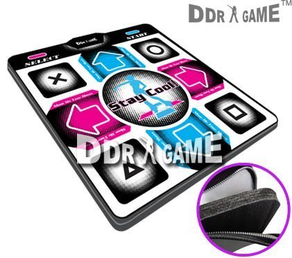 Dance Dance Revolution DDRgame (Super Sensitive-No More Delay) PS1 /PS2 Super Deluxe Pad (Version 4.0) with 1 Foam Insert by Dance Dance ()
