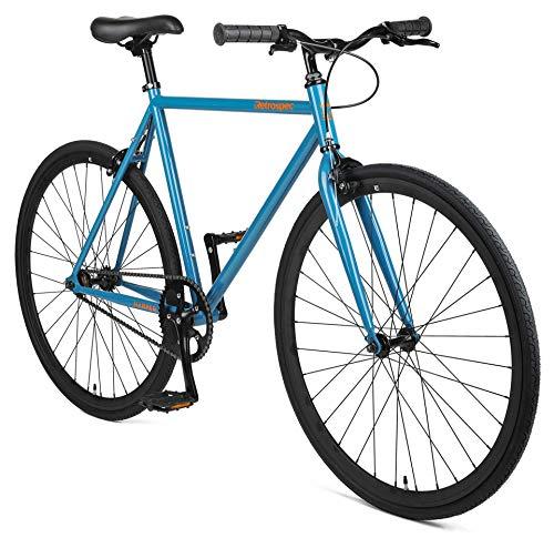 Retrospec Harper Single-Speed Fixed Gear Urban Commuter Bike (Renewed)