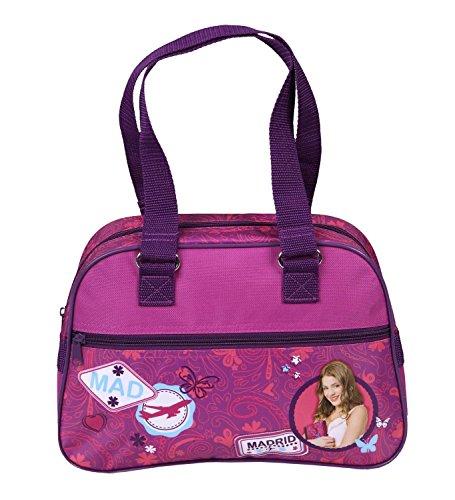 Handtasche Violetta Tragetasche Tasche 32x22x10 cm