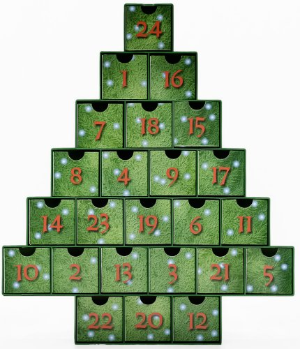 O Christmas Tree Treasure Box Advent Calendar (Countdown to Christmas) (Special Christmas Countdown M)