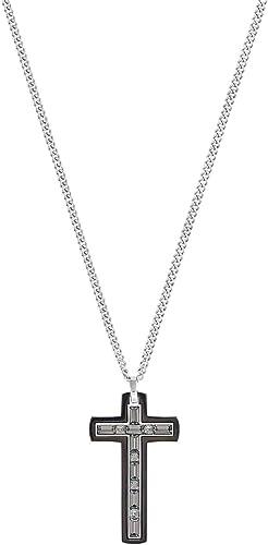 Swarovski Collier pour Homme avec Pendentif emblème Acier ...
