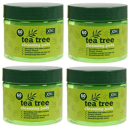 Tea Tree Cleansing Pads (4 x 60 Pack)