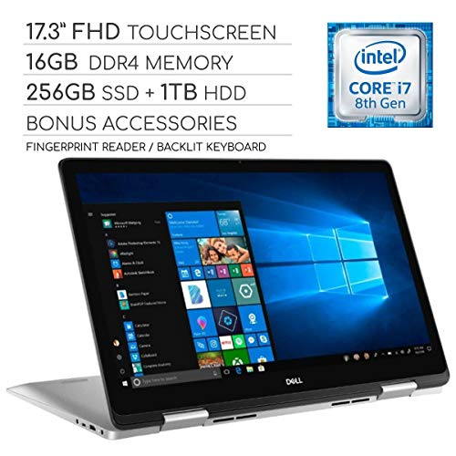 "Dell Inspiron 17 7000 Series 2019 2-in-1 17.3"" FHD Touchscreen Laptop"