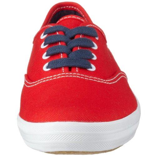 Keds - Zapatillas de deporte de lona para mujer Rojo