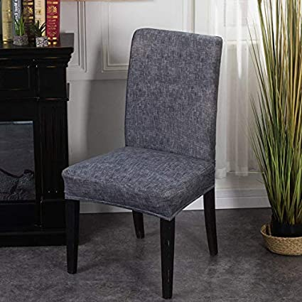 Amazon Com Stretch Kitchen Chair Covers Solid Color Plaid