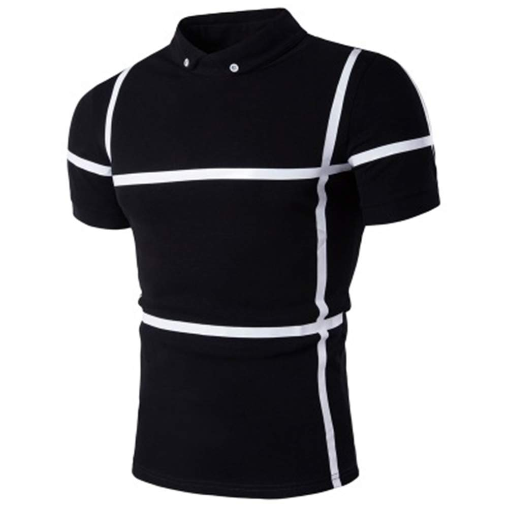 Mens Tailored Fit Short Sleeve Polo Shirt