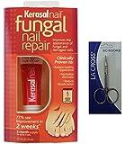 Kerasal Nail Fungal Nail Renewal Treatment 10 milliliter with Nail Scissor