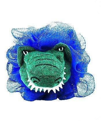 Florida Gators Shower/Bath Loofah Mesh Pouf Mascot Blue Set of 2! -