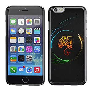 "Exotic-Star ( Design Tiger Power ) Fundas Cover Cubre Hard Case Cover para 5.5"" iPhone 6 Plus"