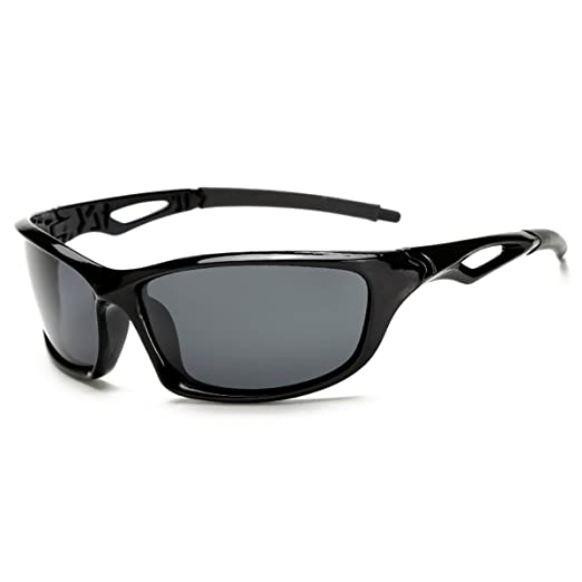 728f52117c5a Image Unavailable. Image not available for. Color  Polarized Sport  Sunglasses for Cycling Running Fishing Driving Men and Women Grey