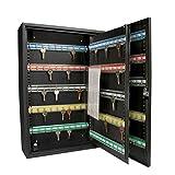 Barska 200 Position Adjustable Key Lock Cabinet with Key Lock