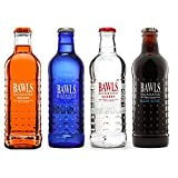 8 Pack - Bawls Guarana - Variety Pack - Original, Orange, Cherry, Root Beer- 10oz. + Energy Drink Outlet Sticker
